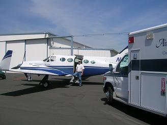 Cessna 421 Ambulance