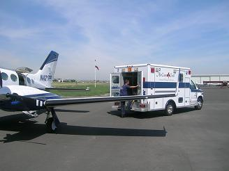 Cessna 421 Air Ambulance